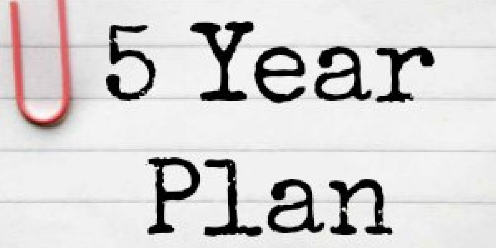 Trading is a 5 year plan