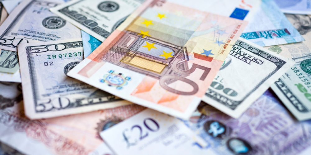 What is the Order, or Ranking, of the major Currencies?